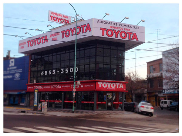 Local en Warnes de repuestos para Toyota